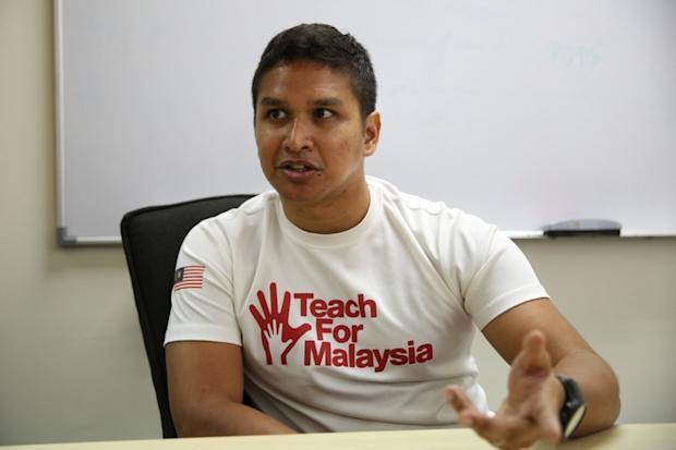 In his role as a TN50 ambassador, Dzameer is hopeful that he can help Malaysians improve the education system... even if it takes baby steps to achieve the nation's goal in 2050.