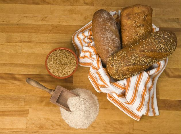 "<b>Whole grains: </b> Whole grains pack in a host of <a href=""http://www.mdhil.com/vitamins-benefits-and-sources-part-1/"">vitamins</a>, <a href=""http://www.mdhil.com/get-some-minerals-in-your-diet-iron-and-calcium/"">minerals</a> and fibre – good for both men and women. However, it's the B vitamins that particularly benefit men. Vitamin B9 (folate) helps keep sperm healthy, vitamin B7 (biotin) helps reduce hair loss. Silica, also found in whole grains aids healthy hair growth."
