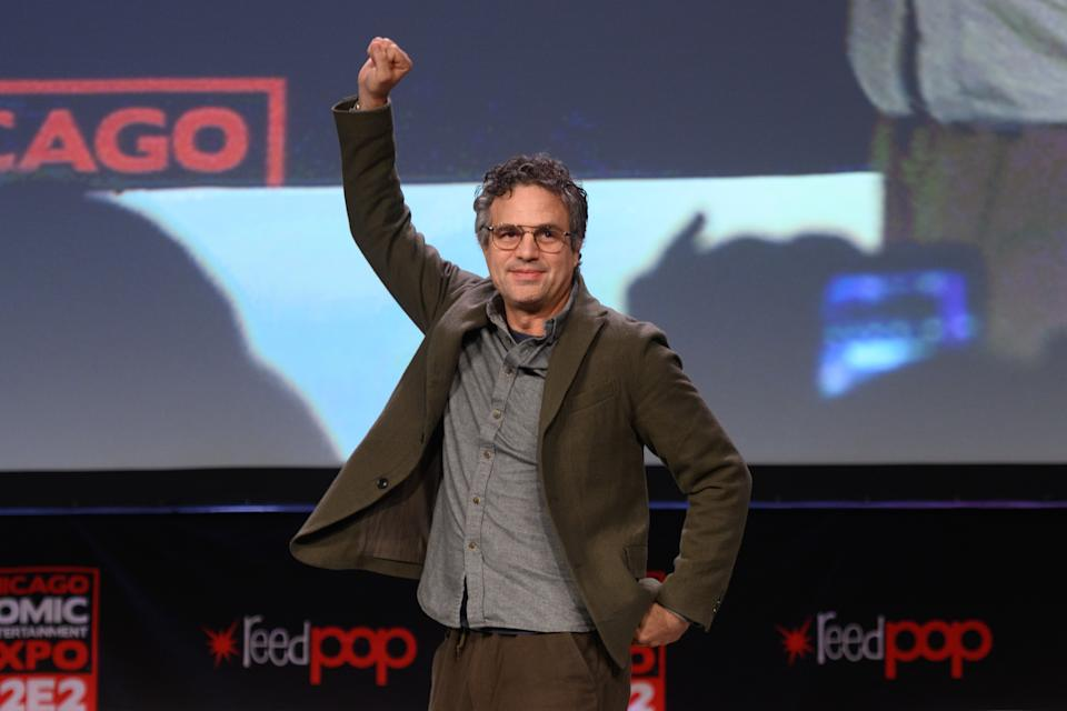 CHICAGO, ILLINOIS - MARCH 1: Mark Ruffalo attends C2E2 Chicago Comic & Entertainment Expo at McCormick Place on March 1, 2020 in Chicago, Illinois. (Photo by Daniel Boczarski/Getty Images)