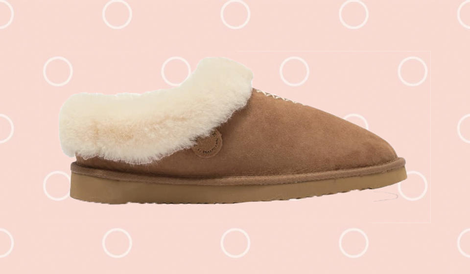 These shearling slipper-shoes really get where we're at right now. (Photo: Nordstrom Rack)