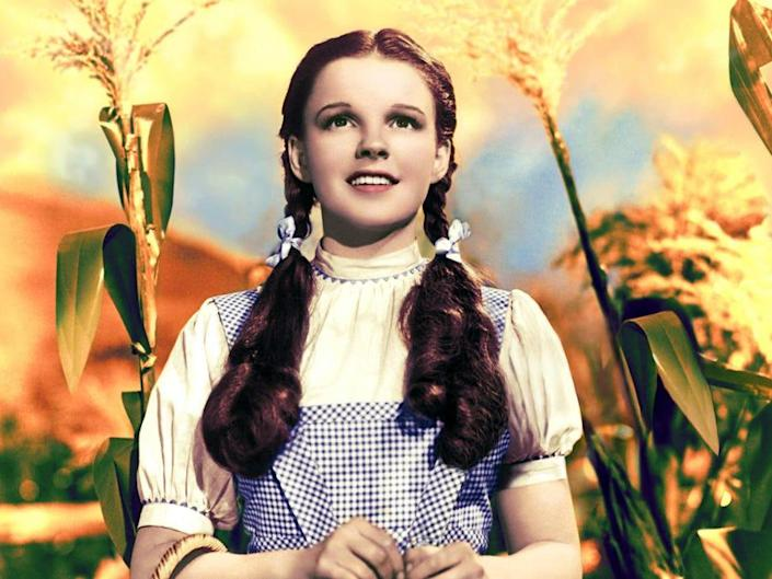 """Judy Garland as Dorothy in """"The Wizard of Oz."""""""