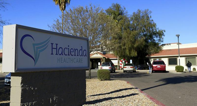 Comatose woman gives birth: Police are gathering DNA samples from the Hacienda HealthCare facility's (pictured) male staffers.