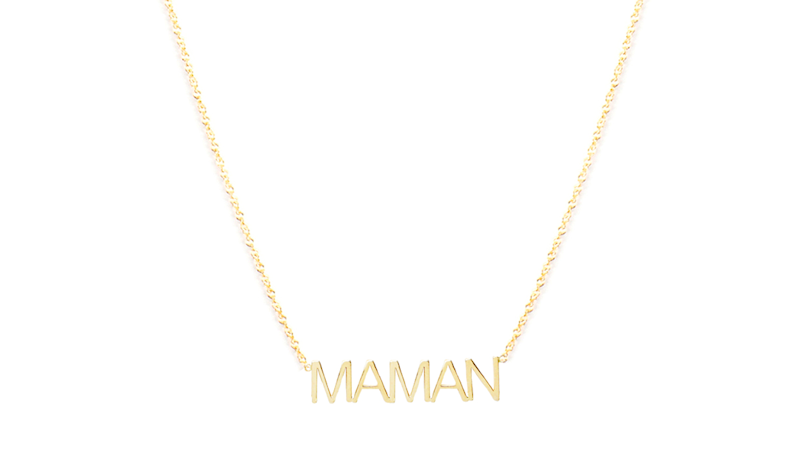 Christmas gifts for moms 2019: Maman Necklace