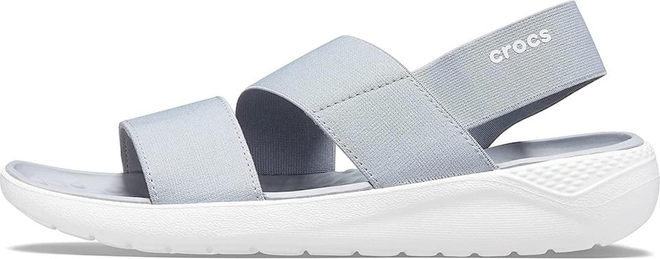 <p>These <span>Crocs LiteRide Stretch Sandals</span> ($27 - $105) are the ultimate summer staples, with their airy silhouette and comfortable footbed.</p>