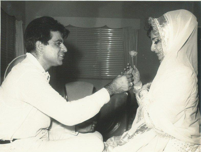 <p>Saira Banu's mother was not happy with this controversial liaison and intervened to end it. On the other hand, she played cupid to bring her daughter and the super star of the era, Dilip Kumar closer. Soon loved blossomed between the two. The also worked in movies like 'Gopi' and 'Sagina' together. </p>