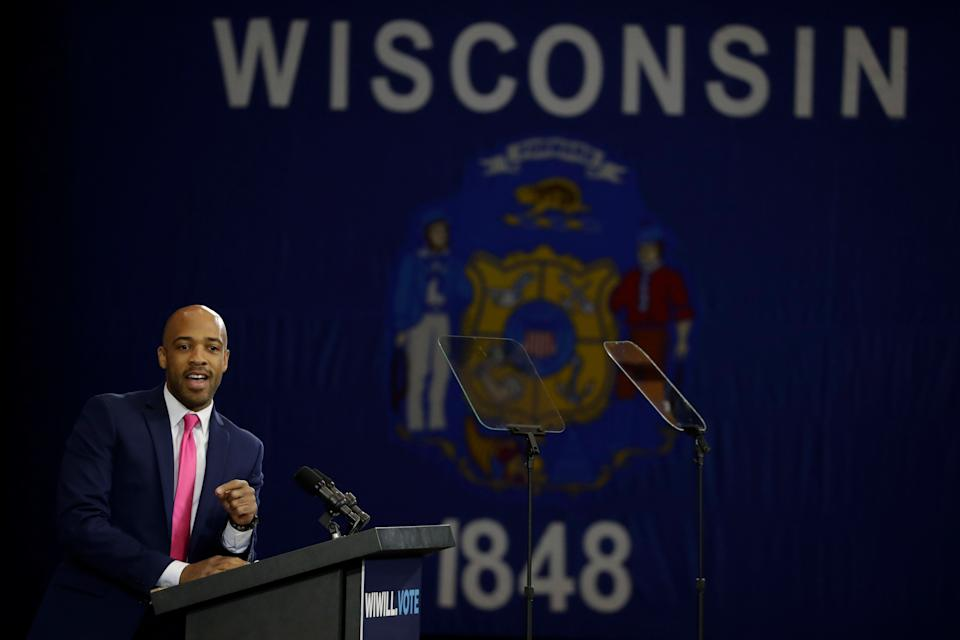 Lt. Gov. Mandela Barnes says Democrats have a lot of work to do after winning Wisconsin by such a close margin in 2020. (Photo: AP Photo/Morry Gash)