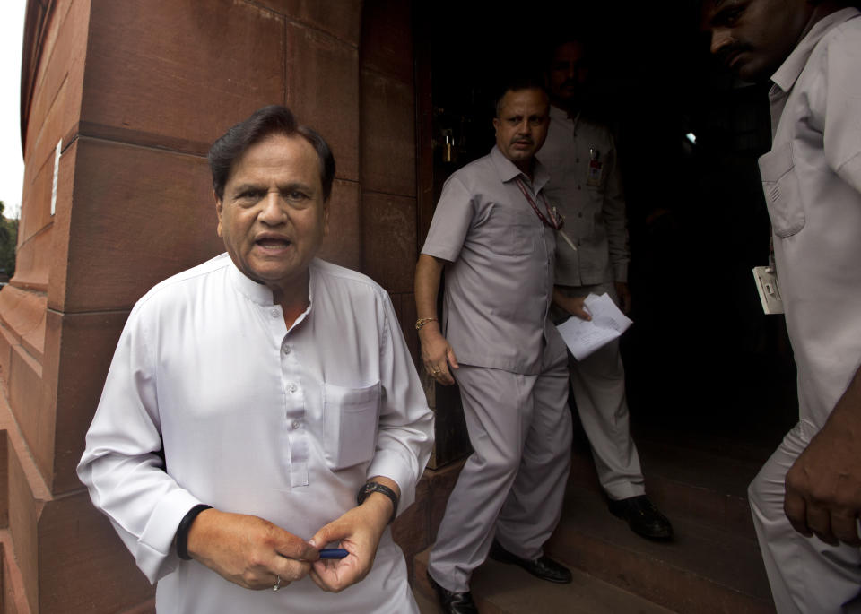Member of Parliament, Ahmed Patel passed away due to COVID complications on November, 25. With his death, Congress has lost one of its senior-most members.<br>The veteran Congress leader had tested positive on October 1 and had urged all those who came in contact with him to self-isolate. <br>Patel, who was in Parliament continuously from 1977, was a confidante to three generations of the Gandhi family. <br><em><strong>Image credit:</strong></em> (AP Photo/Manish Swarup)