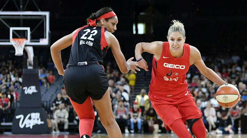 McBride and Cambage lead Aces to 90-58 rout of Liberty