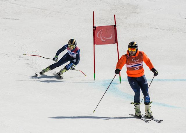 Winter Paralympics: Giant slalom performance disappoints skier Knight