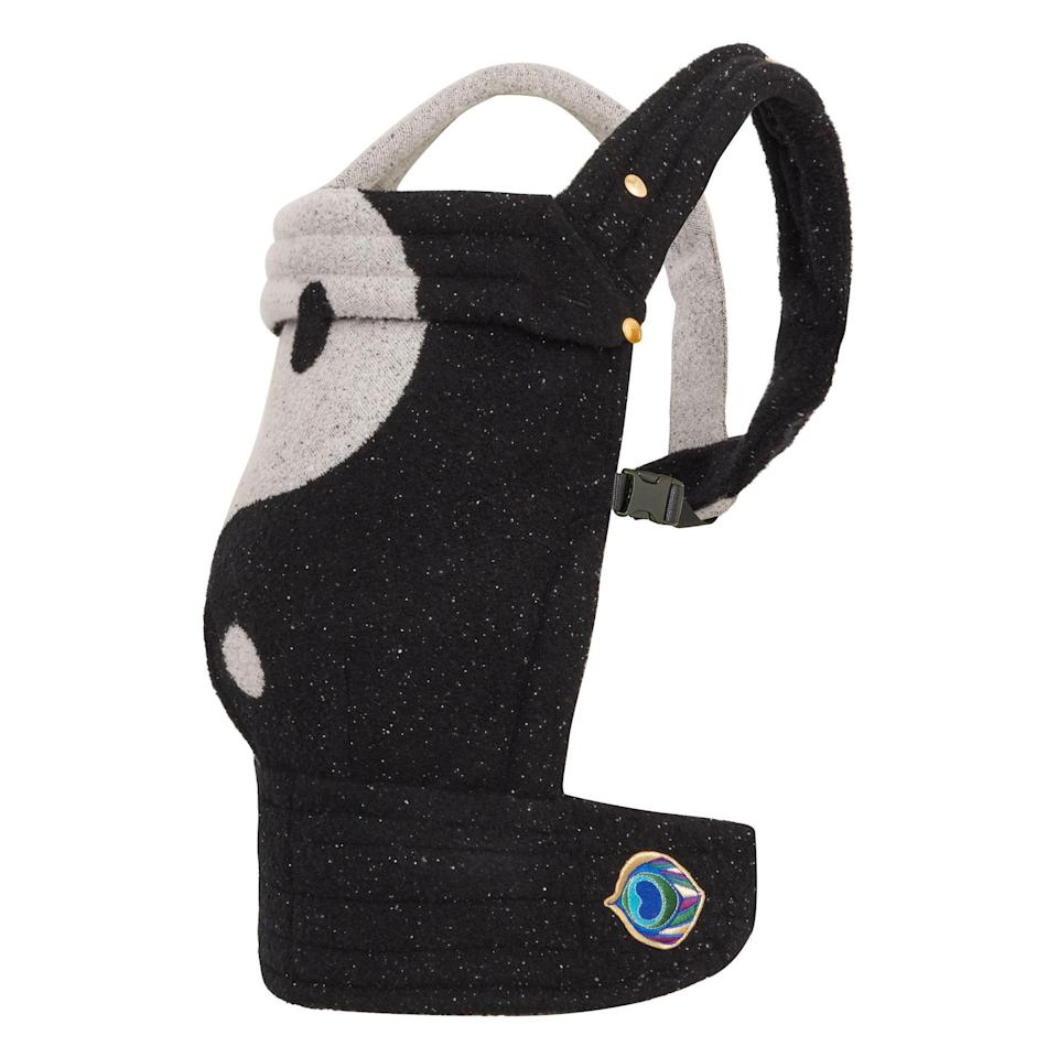 """These carriers are not only insanely aesthetically pleasing, they're also super comfortable. The support it offers up on your shoulders and back is amazing, and it hugs your baby close in a super soft, cozy fabric. I've had Delfina in hers since she was super little and she still hangs out in it when we go on walks sometimes. This Yin Yang one is my new favorite and I can't wait to carry our future baby boy around in it! —<em>C.C.</em> $767, Artipoppe. <a href=""""https://shop.artipoppe.com/zeitgeist-baby-carrier/1211-zeitgeist-baby-yin-yang"""" rel=""""nofollow noopener"""" target=""""_blank"""" data-ylk=""""slk:Get it now!"""" class=""""link rapid-noclick-resp"""">Get it now!</a>"""