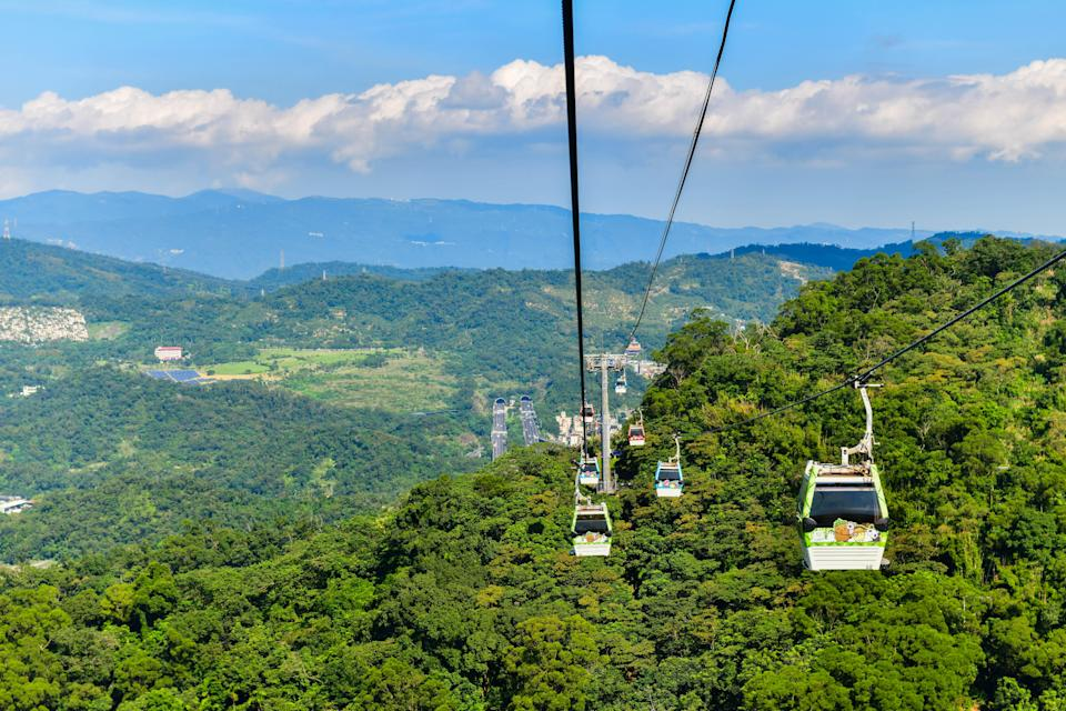 <p>The Taipei Maokong has become a must-visit travel destination in recent years. (Photo courtesy of Shutterstock)</p>