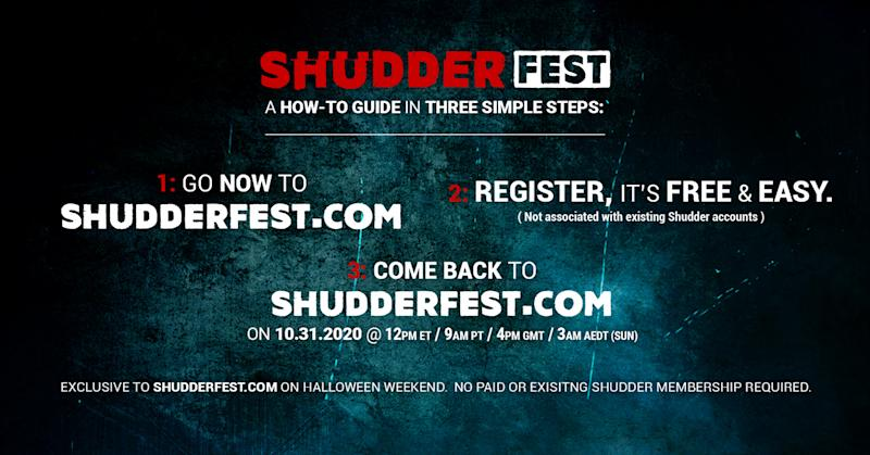 Watch Yahoo Entertainment editors interview legendary genre royalty, fan-favorite musicians and acclaimed filmmakers who love horror at ShudderFest. (Image: Courtesy of Shudder)