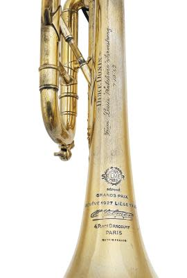 Louis Armstrong Trumpet Auction