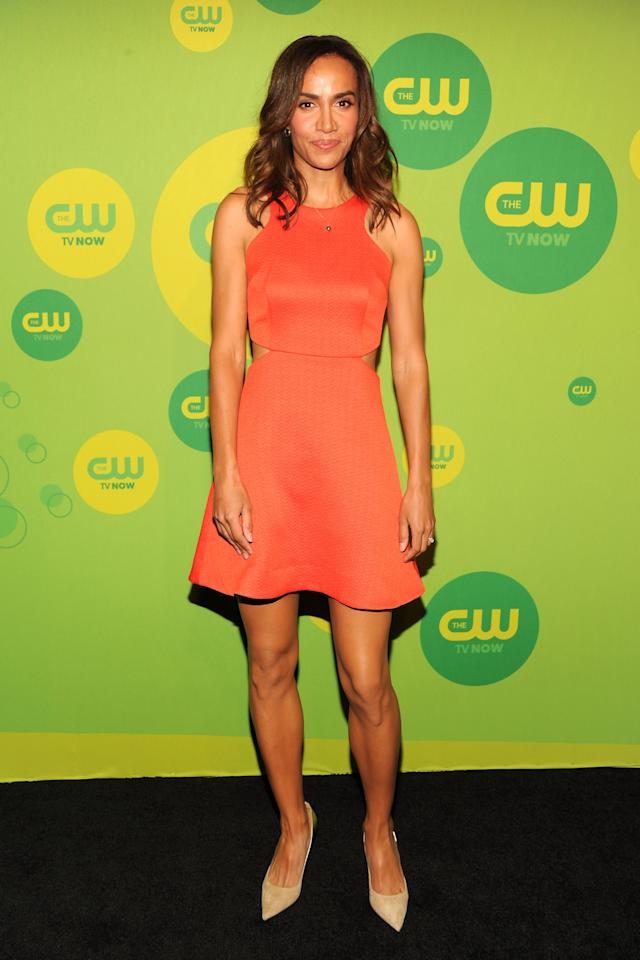 NEW YORK, NY - MAY 16:  Actress Nina Lisandrello attends The CW Network's New York 2013 Upfront Presentation at The London Hotel on May 16, 2013 in New York City.  (Photo by Ben Gabbe/Getty Images)