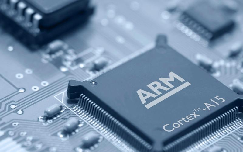 An ARM Holdings Plc Cortex-A15 MPCore processor - Bloomberg News