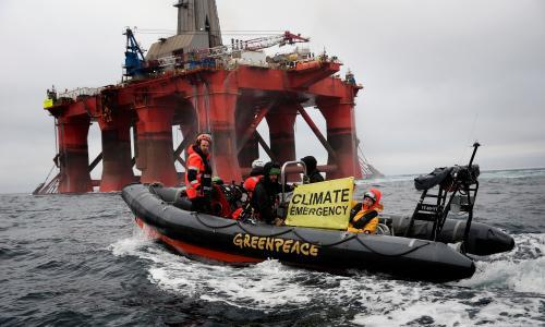 Greenpeace faces hefty fine after admitting defying court order