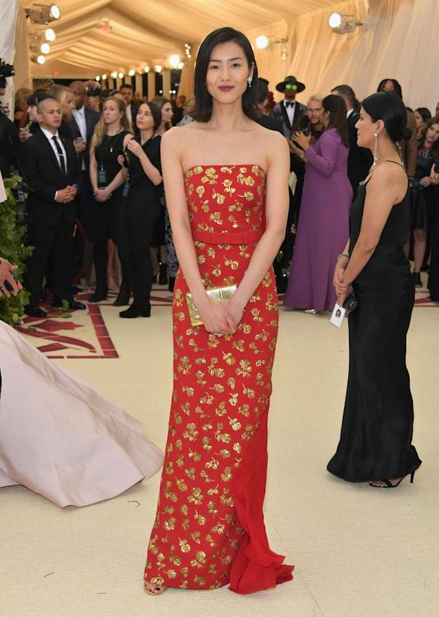 <p>The model has attended the gala nine times, and has worn Michael Kors to three of them. (Photo: Getty Images) </p>