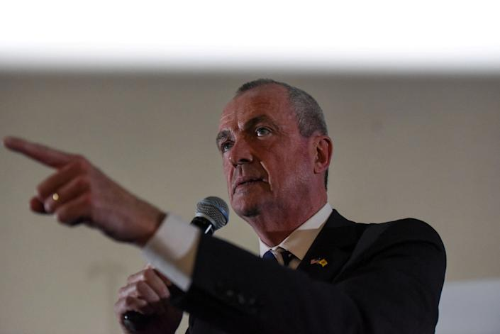 Phil Murphy, a candidate for governor of New Jersey, speaks during the First Stand Rally in Newark, New Jersey, on Jan. 15. (Photo: Stephanie Keith / Reuters)