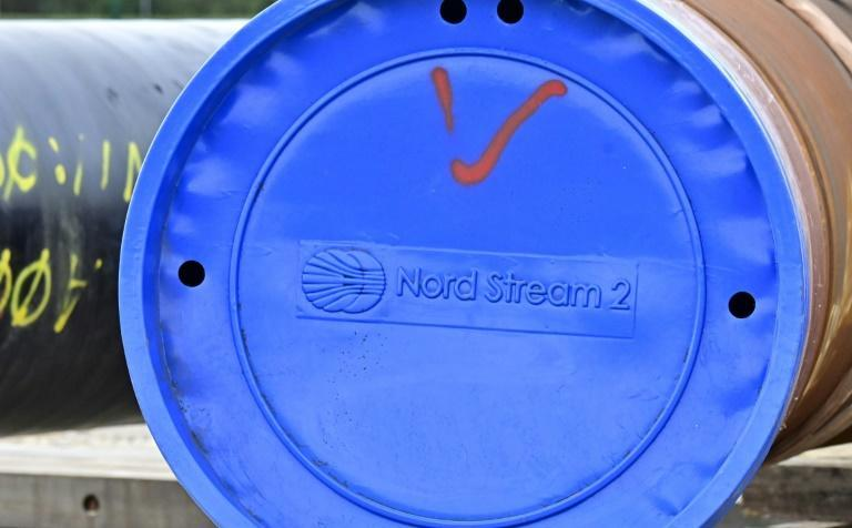 US sanctions on Russian vessels laying the pipeline had succeeded in delaying Nord Stream 2, angering Germany (AFP/Tobias SCHWARZ)