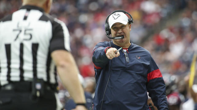 Bill O'Brien: Fixing Texans' penalty woes happens in practice