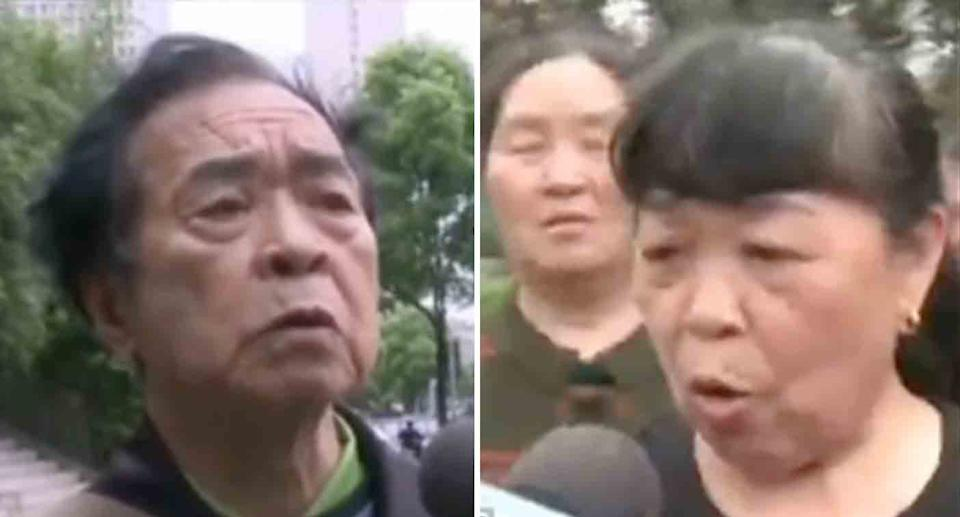 Angry members of the group expressed their dismay to local media. Source: Weibo