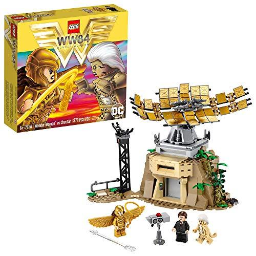 LEGO DC Wonder Woman vs Cheetah 76157 with Wonder Woman (Diana Prince), The Cheetah (Barbara Minerva) and Max; Action Figure Toy for Kids Aged 7 and up, New 2020 (371 Pieces) (Amazon / Amazon)