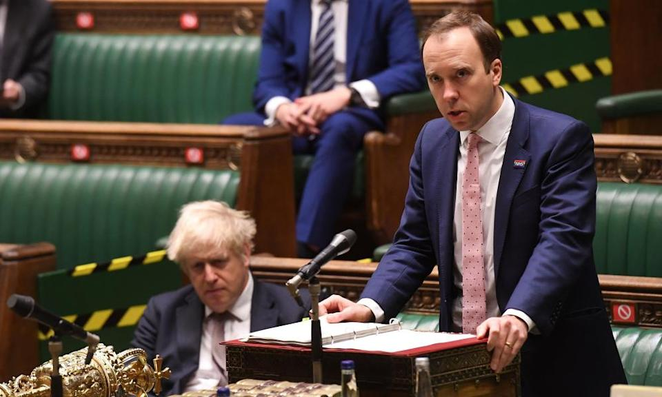 <span>Photograph: Jessica Taylor/Parliament/AFP/Getty</span>