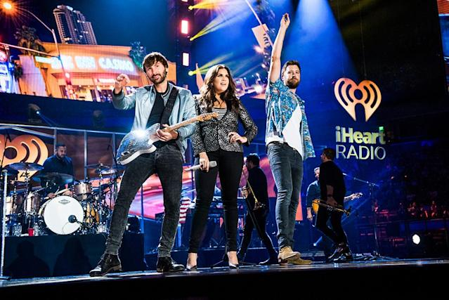 <p>Lady Antebellum performs at the 2017 iHeartCountry Festival, A Music Experience by AT&T at The Frank Erwin Center on May 6, 2017 in Austin, Texas. (Photo: Chris Owyoung) </p>