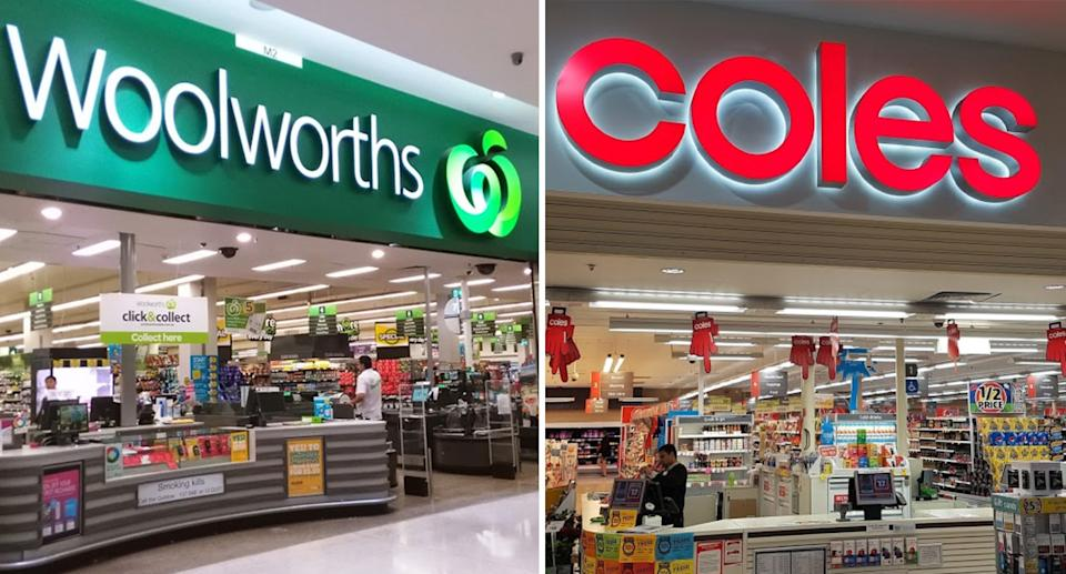 Coles and Woolworths were asked by shoppers to make it easier to find Australian-owned products.