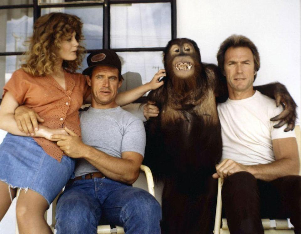 <p>In the '70s, Eastwood began dabbling in comedy. He appeared with Jeff Bridges in<em> Thunderbolt and Lightfoot</em> in 1974 and starred in <em>Every Which Way but Loose</em> in 1978. These films were a blimp on his career and he soon after returned to dramas.</p>