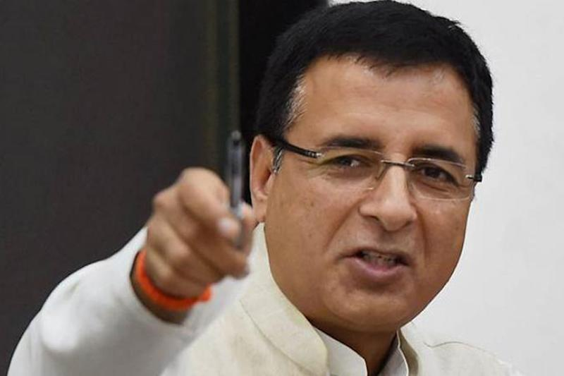 'Operation Kamal': Surjewala Jabs BJP as Congress Calls for Dismissal of 'Illegal' Karnataka Govt