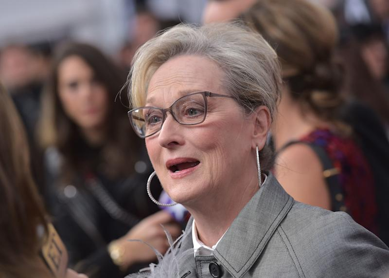 Meryl Streep told an outlet she wouldn't talk about reports of a planned protest at the Golden Globes. (MANDEL NGAN via Getty Images)