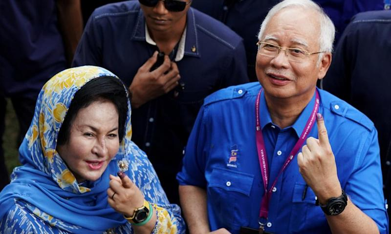 Days after Rosmah Mansor received a consignment of jewellery, apartment's linked to her husband Najib Razak were raided.