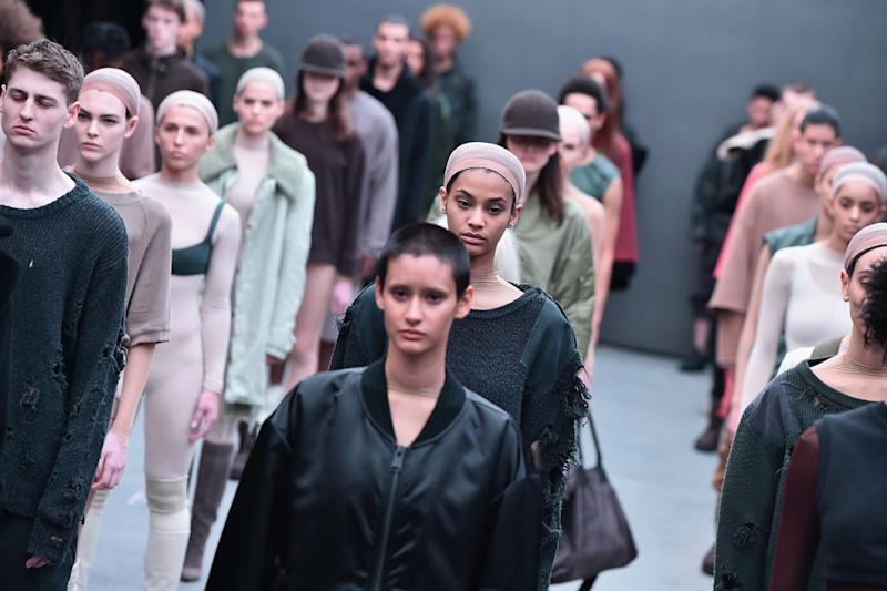 764d3048 Kanye West Reportedly Threatens to Sue Yeezy Season 2 Models Who Talk About  Him or the Kardashians