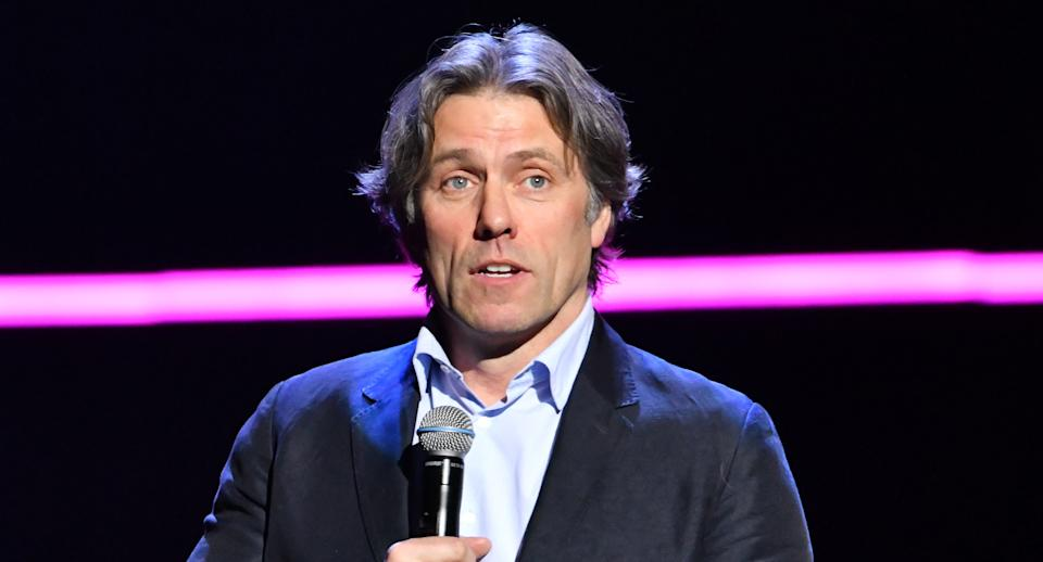 John Bishop performs during the Teenage Cancer Trust comedy night, at the Royal Albert Hall, London. (Photo by Matt Crossick/PA Images via Getty Images)