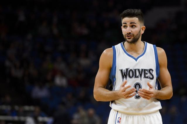 Ricky Rubio's out with a sprained elbow, opening the door for Kris Dunn