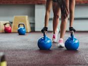 """<p>Gearing yourself up for 45 sweat-tastic minutes of mountain climbers EMOM (that's every minute on the minute, to you and I), burpees and AMRAP's (as many reps as possible) in your next virtual Crossfit session and want to fuel smart? </p><p>Take note from James Duigan (<a href=""""https://www.instagram.com/jamesduigan/"""" rel=""""nofollow noopener"""" target=""""_blank"""" data-ylk=""""slk:@jamesduigan"""" class=""""link rapid-noclick-resp"""">@jamesduigan</a>), author of Clean and Lean books, who recommends a high protein snack around an hour pre-session. 'Try a salmon and avocado combo, a boiled egg for protein or a handful of almonds—especially if you're planning to exercise after work before heading home for dinner', he says.</p><p>'Consuming a snack that's higher in protein and healthy fat won't raise your insulin levels, a process which would prevent muscle protein being used as energy', he shares.</p><p>As with the other exercises, Duigan says that, ideally, you'd eat a balanced meal of carbs, protein and fats two to three hours beforehand and then perhaps have a small snack closer to your workout.<br></p>"""