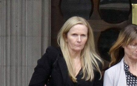 Cathryn Craven, 50, outside the High Court in London - Champion News Service Ltd