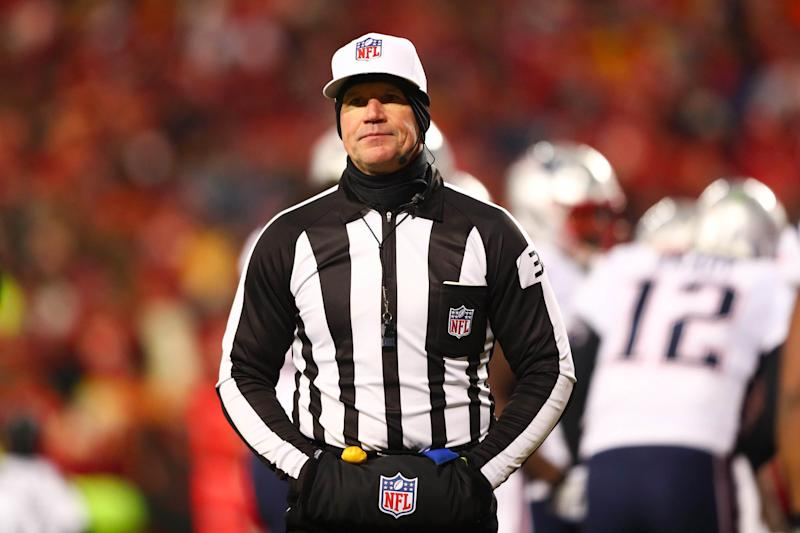 The NFL has reportedly suspended a program that provides full-time employment to some of the league's officials. (Getty)