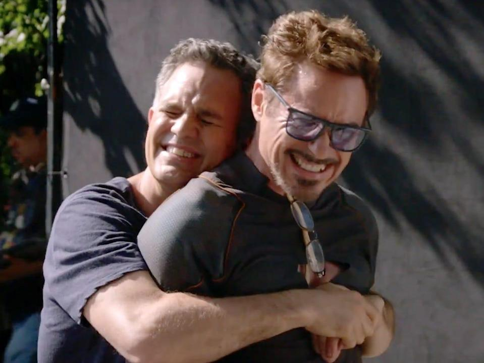 mark ruffalo robert downey jr