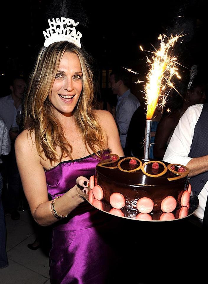 """While others were at LIV, Molly Sims hosted an event at the Fontainebleau Hotel's other club - Blade. Gustavo Caballero/<a href=""""http://www.wireimage.com"""" target=""""new"""">WireImage.com</a> - December 31, 2008"""