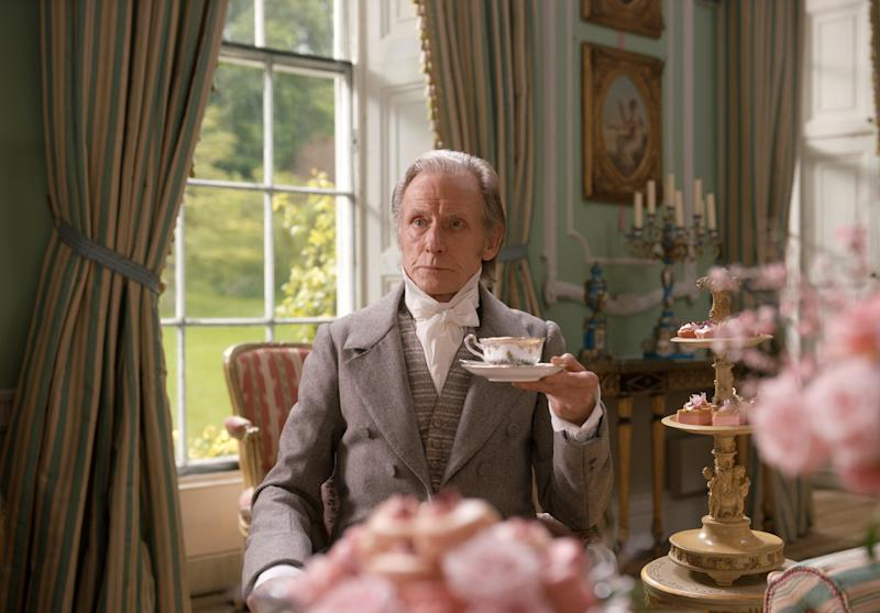 Bill Nighy plays Henry Woodhouse in Emma. (Photo: Focus Features/Universal)