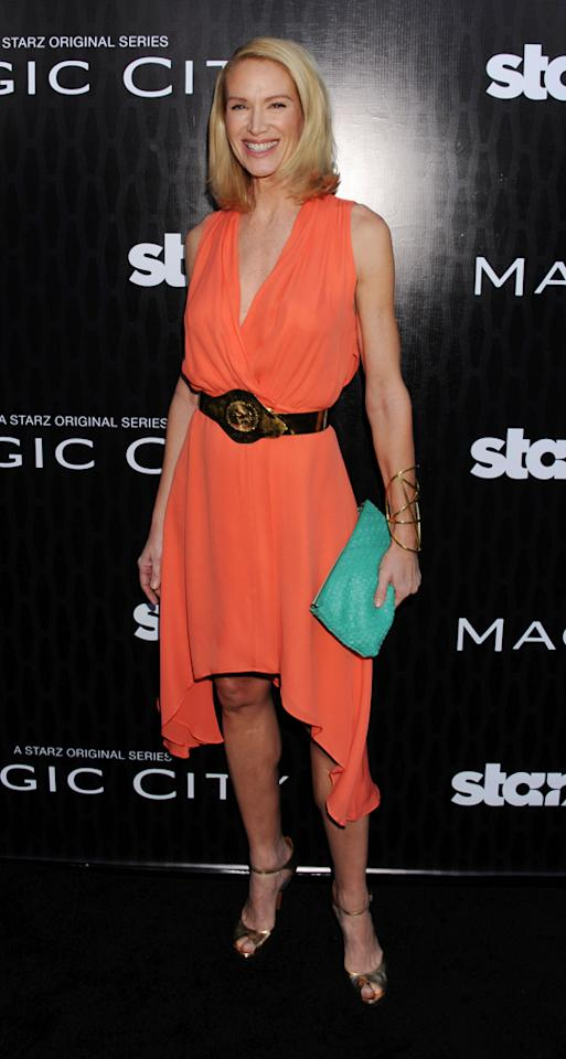 "Kelly Lynch attends the Starz '<a target=""_blank"" href=""http://tv.yahoo.com/magic-city/show/46996"">Magic City</a>' Los Angeles Series Premiere at Directors Guild Of America on March 20, 2012 in Los Angeles, California."