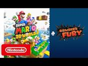 "<p><strong>Release Date: February 12, 2021</strong></p><p>Ahh, a new 3D <em>Super Mario </em>game—just what we need to soothe the soul. Nintendo is rolling out <em>Super Mario 3D World + Bowser's Fury </em>as part of the <a href=""https://www.esquire.com/lifestyle/a34061540/super-mario-64-3d-all-stars-review/"" rel=""nofollow noopener"" target=""_blank"" data-ylk=""slk:Super Mario Bros. 35th Anniversary celebration"" class=""link rapid-noclick-resp""><em>Super Mario Bros. </em>35th Anniversary celebration</a>, and it's got all the classic, nostalgic features: whimsically colorful stages, co-op play (local or online), plus<em> Bowser's Fury</em>, which fans<a href=""https://screenrant.com/super-mario-3d-world-bowser-fury-updates-changes/"" rel=""nofollow noopener"" target=""_blank"" data-ylk=""slk:speculate"" class=""link rapid-noclick-resp""> speculate</a> will be a dark world where you must fight the vengeful Bowser after saving the Sprixie Kingdom.<br></p><p><a href=""https://youtu.be/OPAQA_P_RQY"" rel=""nofollow noopener"" target=""_blank"" data-ylk=""slk:See the original post on Youtube"" class=""link rapid-noclick-resp"">See the original post on Youtube</a></p>"