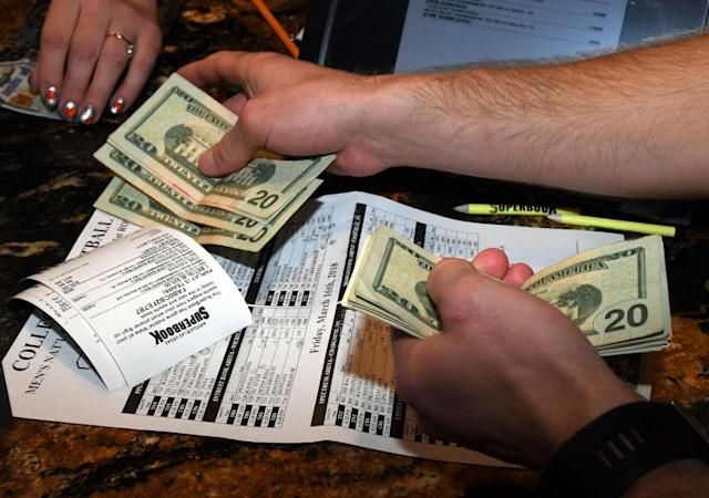 Las Vegas no longer has a monopoly on sports gambling. (Getty Images)