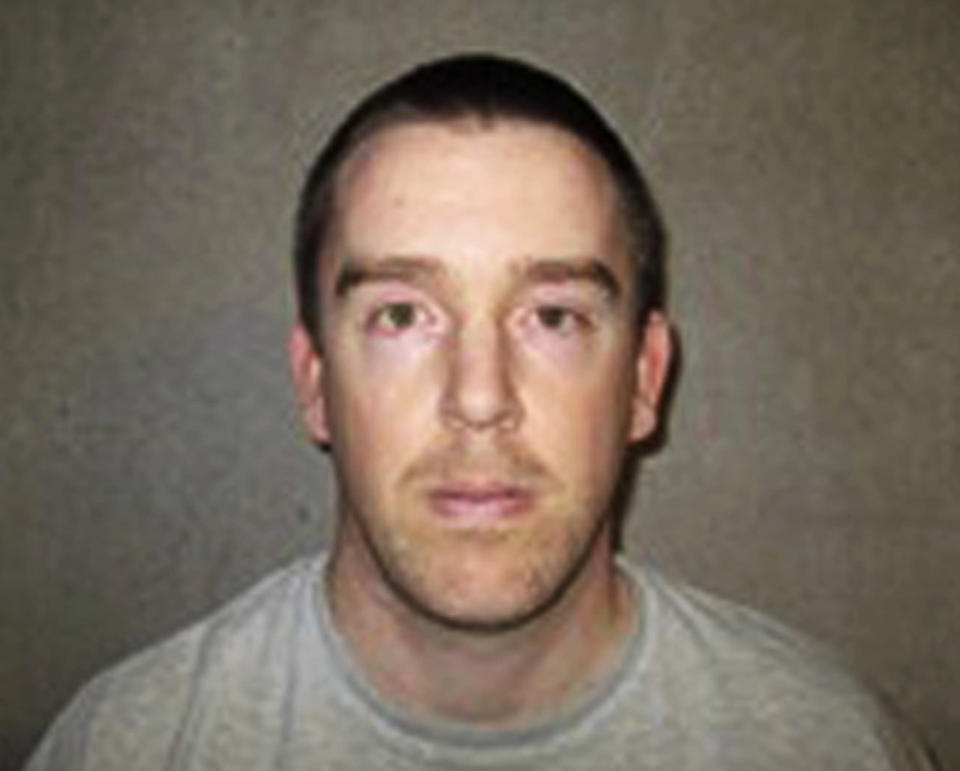 FILE -This Jan. 9, 2015, file photo provided by the Oklahoma Department of Corrections shows Shaun Bosse. As many as ten death row inmates in Oklahoma, more than one-fifth of the state's prisoners condemned to die, could escape the death penalty because of a recent U.S. Supreme Court ruling about criminal jurisdiction in Indian Country. Bosse, who was convicted and sentenced to death for the 2010 killing of Katrina Griffin and her two young children, is among the inmates likely to get a new trial in federal court. (Oklahoma Department of Corrections via AP, File)
