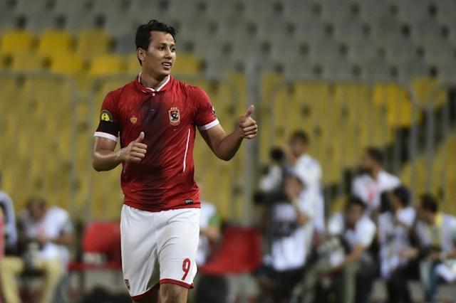 Amr Gamal's hopes of playing for Egypt in the World Cup are in jeopardy after he left Wits in South Africa (AFP Photo/KHALED DESOUKI)