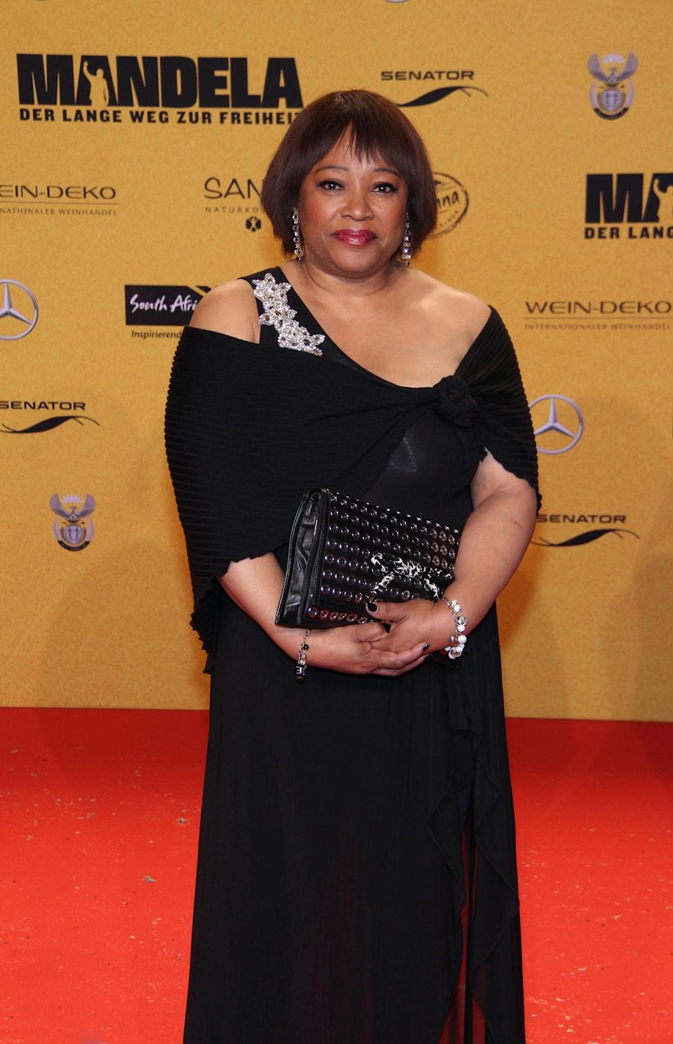 <p>Zindzi Mandela, South Africa's ambassador to Denmark and the youngest daughter of Nelson Mandela and Winnie Madikizela-Mandel, <span>died on July 13 at age 59</span>. </p>