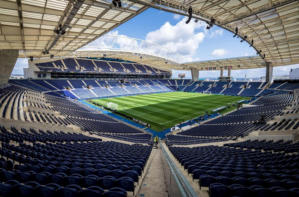 <p>The safe capacity of the Estadio do Dragao will be decided by Portuguese authorities</p> (AP)