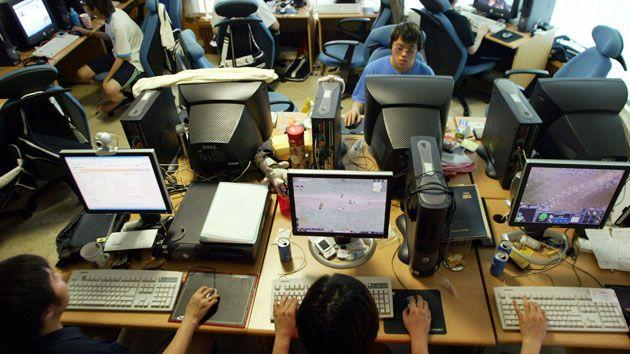 Sleep deprivation from playing online games is a major health issue in South Korea. Photo: Getty.